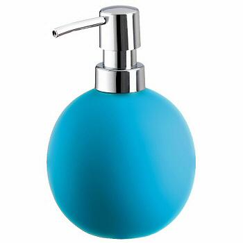 Porcelain Soap Dispensers Non Slip Surface 6 Bright Colors