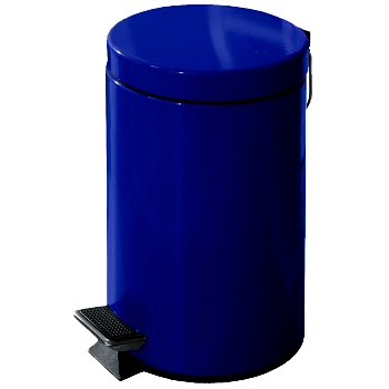 Bathroom Waste Basket With Pedal For Hands Free Use Six