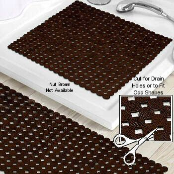 Sign Non Slip Phthalate Free Rubber Tub Safety Mats Cut