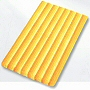 striped bath rug in four fun colors available in extra large and round sizes