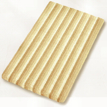 Striped Bath Rug In Fun Colors Small And Medium Sizes