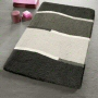 modern bath rug in extra large sizes available in royal blue and grey