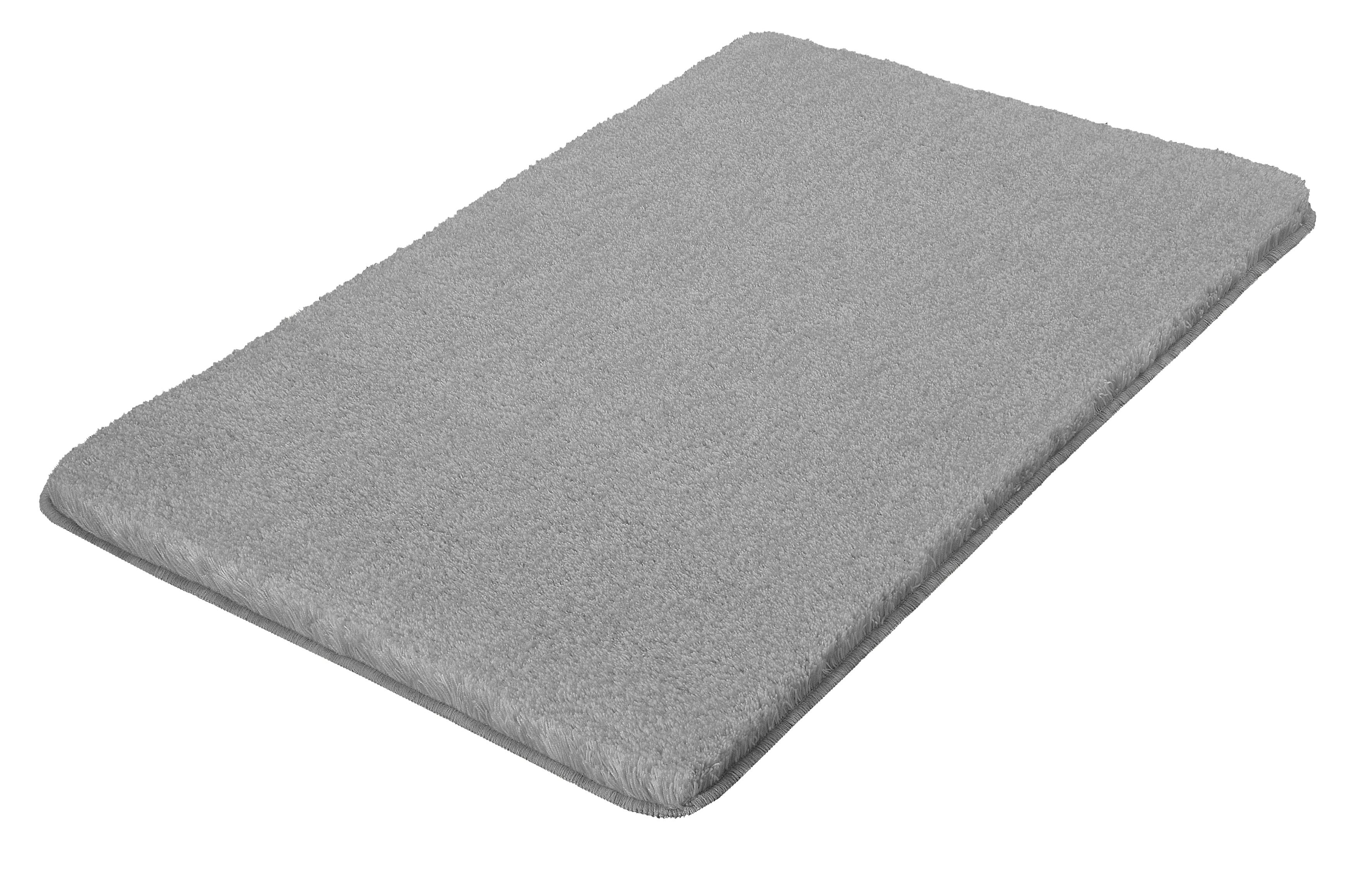 Soft Grey Bathroom Rugs